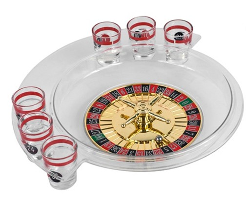 6 Shot Roulette Drinking Game