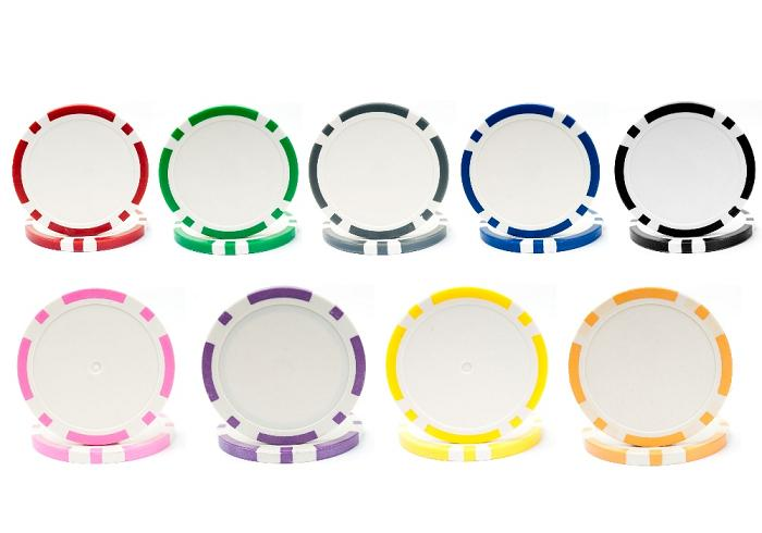11.5g Classic Eight Stripe Dual Color Chip