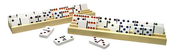 Wood Domino Trays
